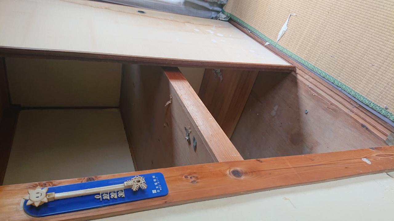 岡山市北区での便利屋作業のハウスクリーニング